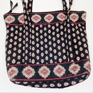🌷VERA BRADLEY Tote Bag Classic Black Retired